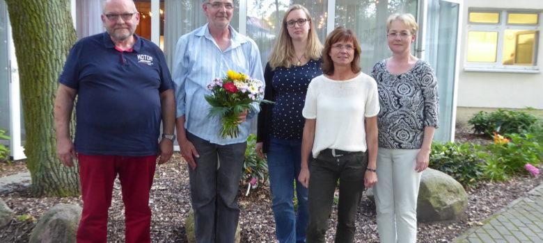 Vorstandsmitglieder Aktiv für Bad Wilsnack e. V. nach der Vorstandswahl vom Juli 2017